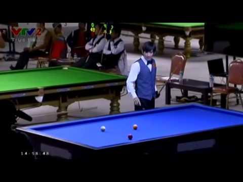 Đặng Đình Tiến vô địch bộ môn billiards & snooker - carom 1 băng