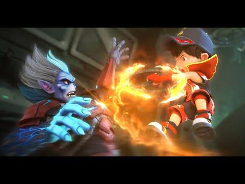 BoBoiBoy VS Retak'ka FIRST BATTLE
