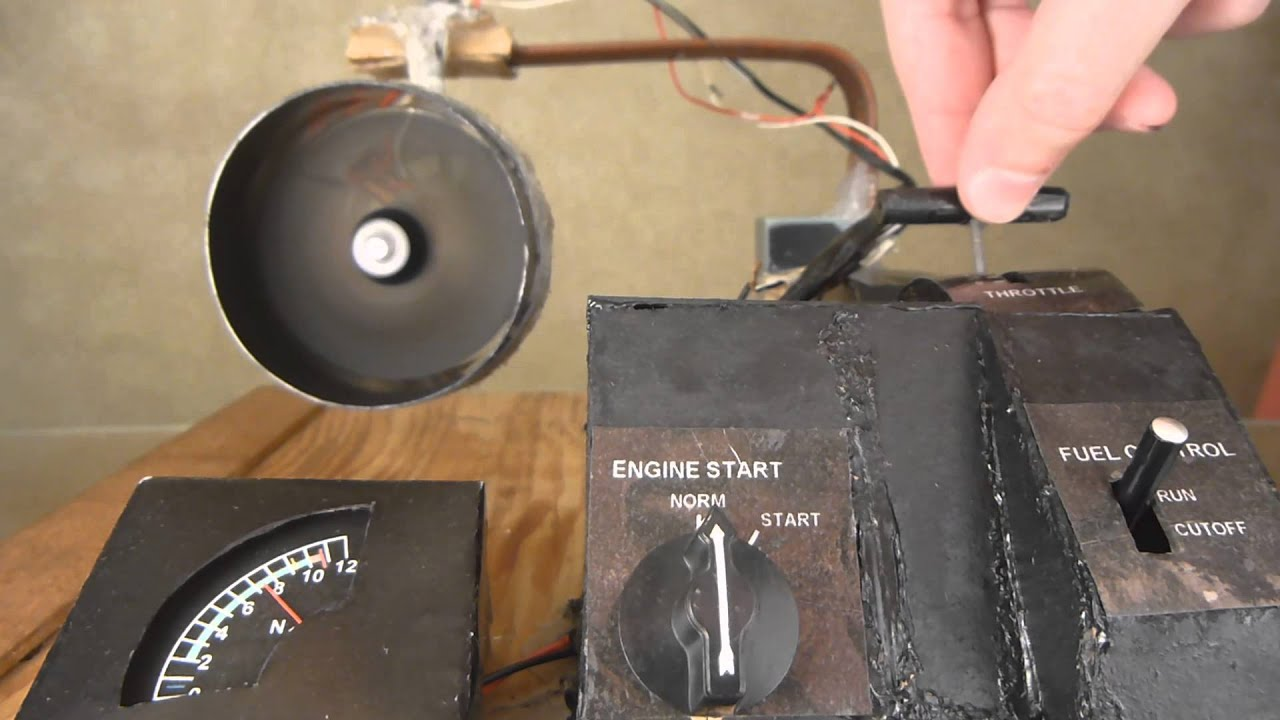 Homemade Electric Jet Engine Working Model 1 24 Scale