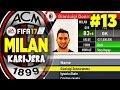 SQUAD REPORT SASSUOLO 13 ✦ KARIJERA SA MILANOM ✦ FIFA 17