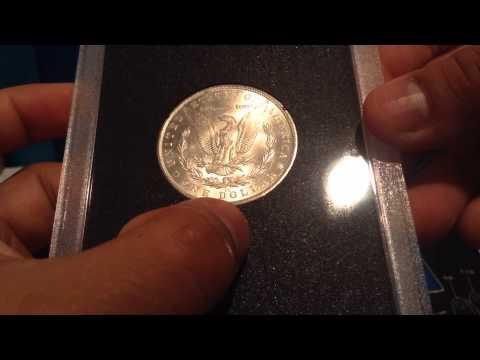 1882 Carson City Uncirculated Morgan Silver Dollar