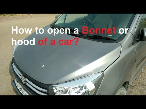 How to open Bonnet or Hood of the Car?