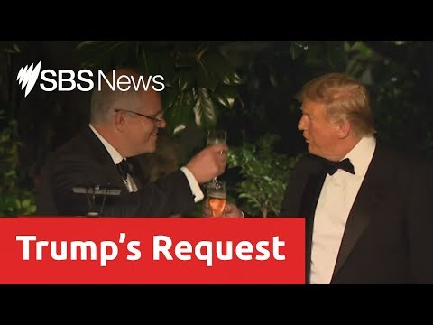 Donald Trump asked Scott Morrison for information to help discredit Mueller report