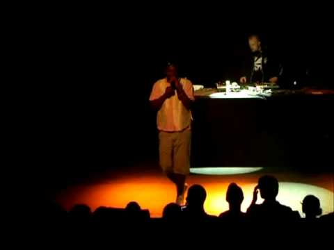 Roots Manuva - Concert in Paris - Buff Nuff