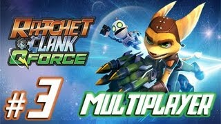 Ratchet & Clank: Full Frontal Assault / Q-Force - Multiplayer HD - Part 3