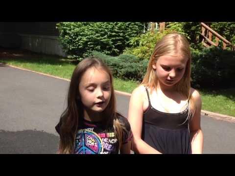 American Kids Annya, Karina and Nikol, Try Speak Russian