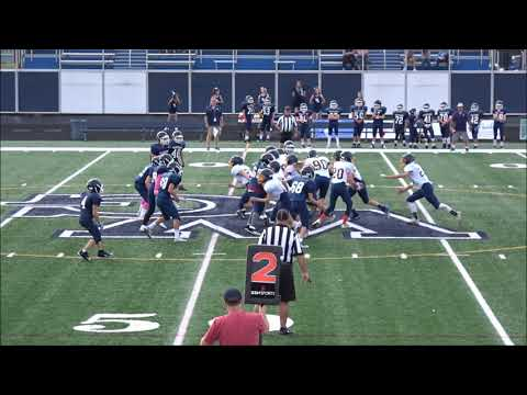 10/4/2017 Kirtland Middle School 8th Grade Football vs West Geauga Middle School