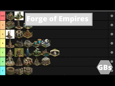 Forge Of Empires Great Building Tier List