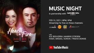 Hearts on Fire: Juris & Jed Teaser | YouTube Music Night