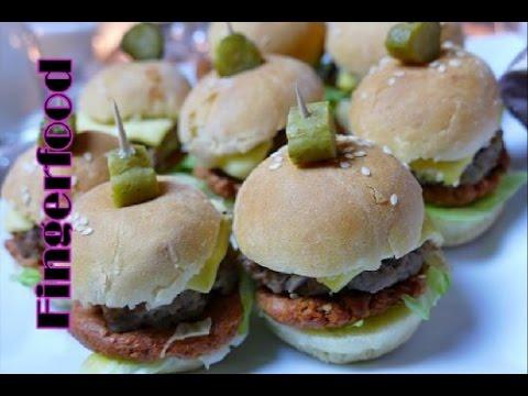 Fingerfood #1 | Mini-Hamburger/Cheeseburger | Partysnack