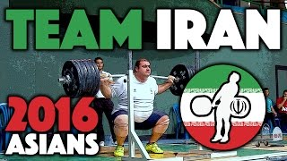 Team Iran - Full Session @ 2016 Asian Championships (April 27th)