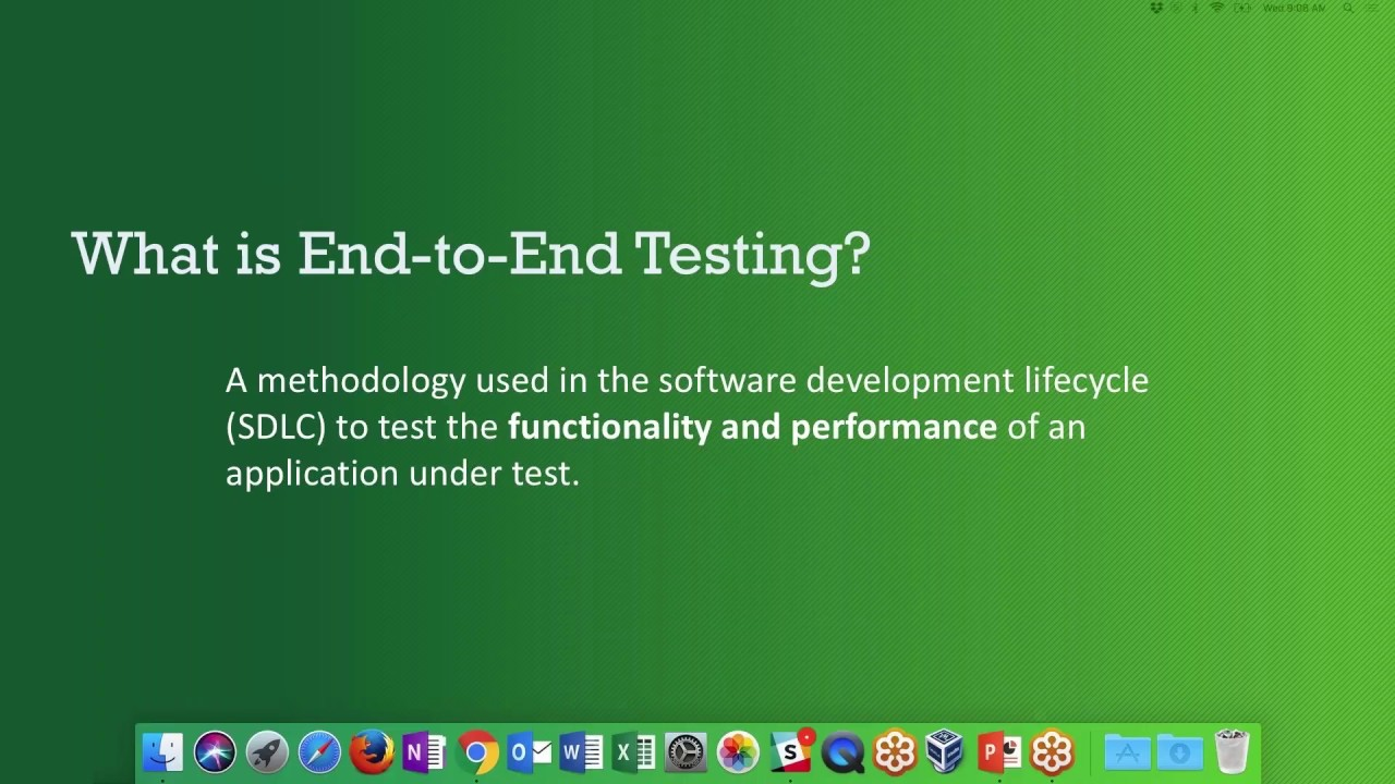 Download What is End-to-End Testing?