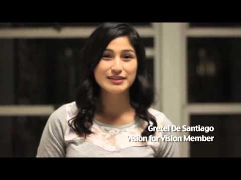 Vision for Vision - Gretel de Santiago
