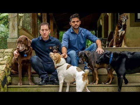 Glenn Greenwald Unveils New Project to Build Animal Shelter in Brazil Staffed by Homeless People