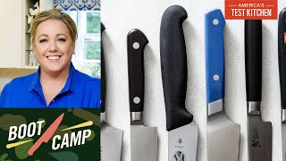 Knives Up–Get to Know Your Collection | Test Kitchen Boot Camp