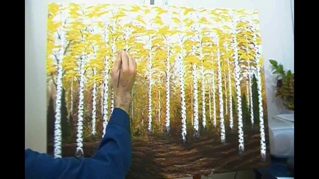 The Birch Tree Forest Youtube