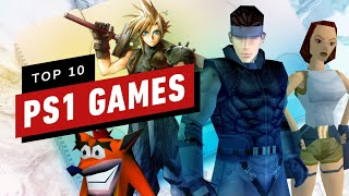 Top 10 PlayStation Games (PS1) of All Time