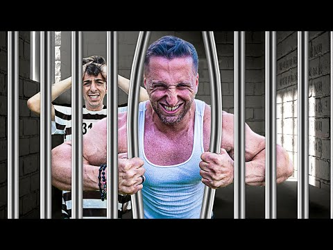 WORLD'S STRONGEST MAN VS UNBREAKABLE PRISON!!