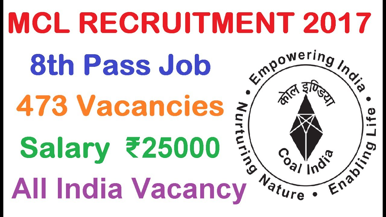 Mcl Recruitment 2017 Latest 8th P Job Ly Now