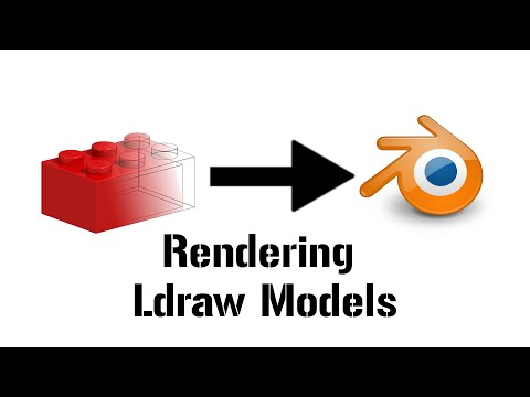 Rendering/Animating Lego Ldraw models with Blender