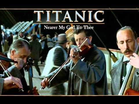 Titanic Soundtrack - Nearer my god to thee - YouTube