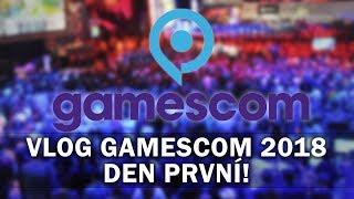 Gamescom 2018 - Den první! (VLOG Alza Magazín #1)