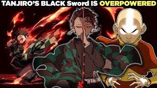 The SECRET Behind Tanjiro's Black Sword - How Strong is Tanjiro in Demon Slayer? (Kimetsu No Yaiba)