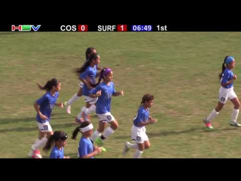 COSMOS FC SOCCER 07G vs SURF HAWAII SC WHITFIELD 07G ROYAL 06 11 16