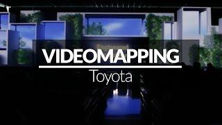 VIDEO MAPPING Toyota  - Dubai - Giochi di Luce