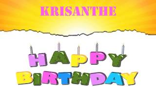 Krisanthe   Wishes & Mensajes - Happy Birthday