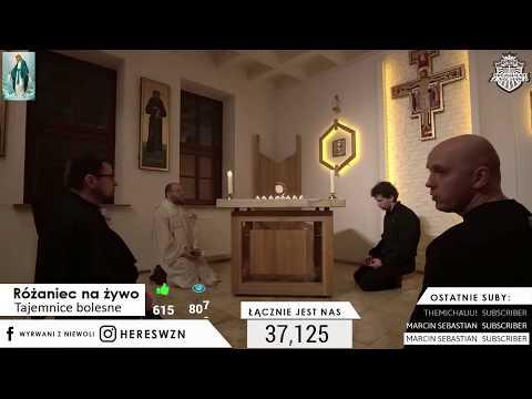 🔥Różaniec na żywo z Franciszkanami - Piszcie Intencje ❤ Rosary live   Wtorek #49