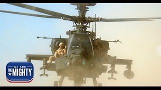 That time 4 Royal Marines strapped themselves to Apaches