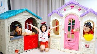 Boram compra uma nova casa de brinquedos