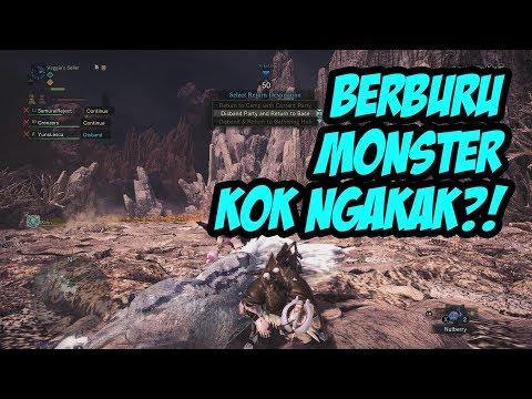 SERUDUK GAN! - Monster Hunter World NGAKAK ABIS! (MHW Indonesia) thumbnail