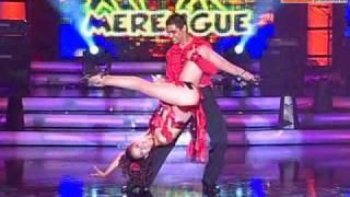 Baile merengue: Maricielo Effio y Charles Ramírez (Reyes del Show PERU 19-12-09)