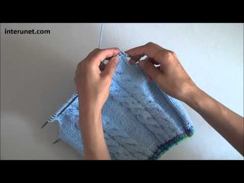 How to knit a sweater for baby or toddler - video tutorial with detailed instructions.