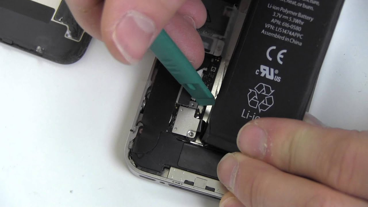 How To Replace Iphone 4s Battery