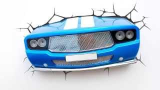 3D LIGHT FX DECO LIGHTS - CLASSIC CAR LED LIGHTS