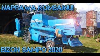 Przygotowania do żniw czyli naprawa kombajnu BIZON SAMPO 2020