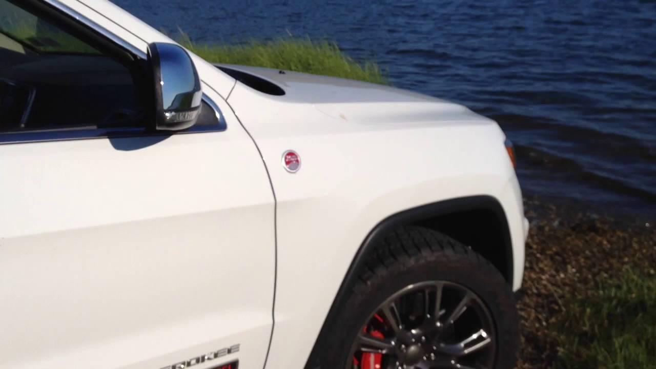 Jeep Grand Cherokee Tires >> EcoDiesel Jeep Grand Cherokee idling Brembos Terra Grapplers - YouTube
