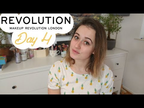 Makeup Revolution week | Tashaly | Day 4