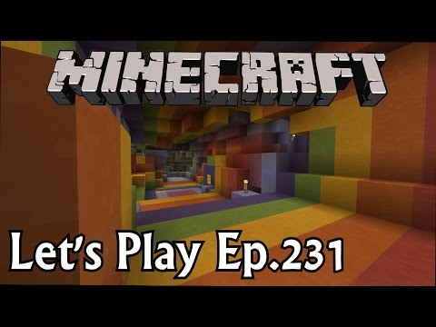 Minecraft Let's Play Ep. 231- Rainbow Ravine