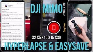 DJI Osmo Pocket Mimo V1. 1.4 Update - Hyperlapse - EasySave - Sample Video Clips - GADGET EP21