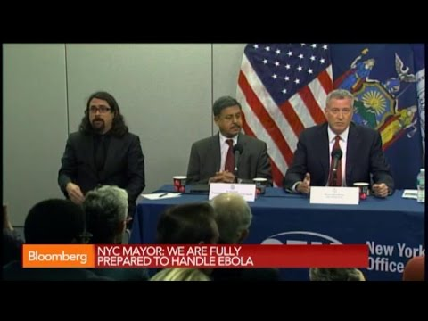 NYC Mayor: We Are Fully Prepared to Handle Ebola