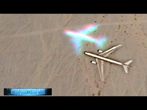 Mysterious GHOST AIRLINER ON GOOGLE EARTH!? ANTI GRAVITY UFO Military Jumbo JET Exposed!? 2016