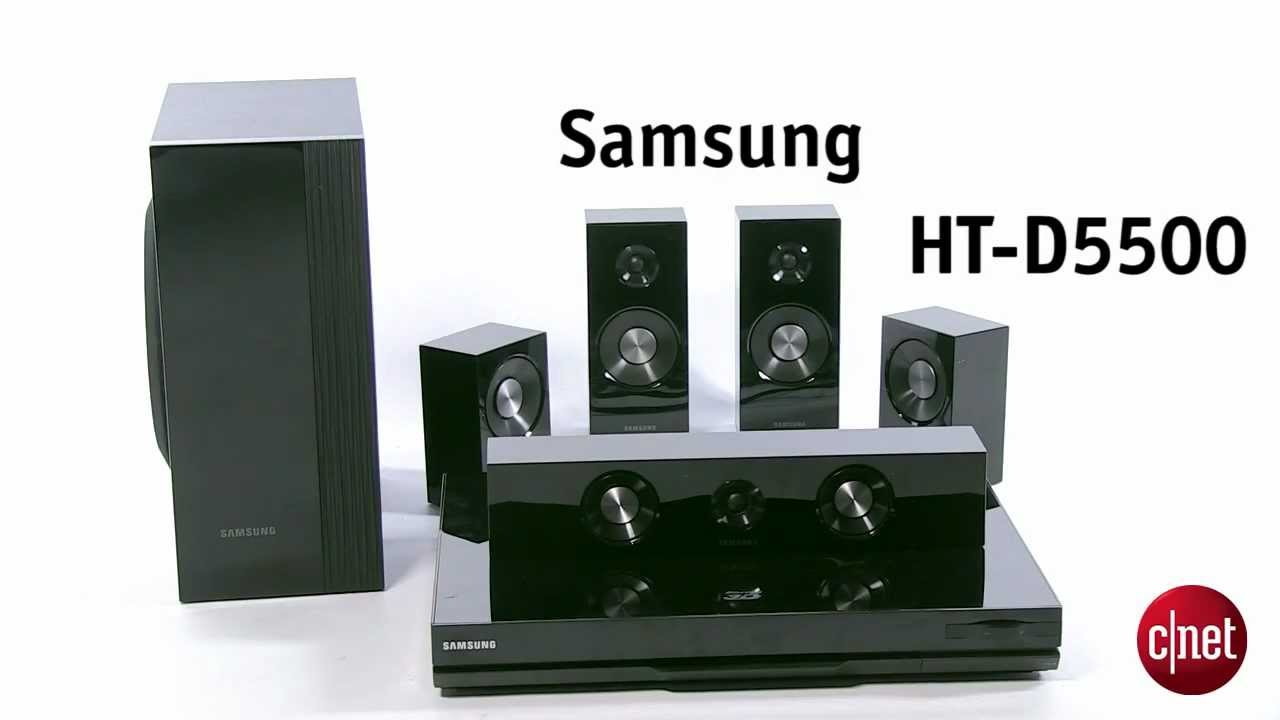 samsung home cin ma 5 1 blu ray 3d ht d5500 youtube. Black Bedroom Furniture Sets. Home Design Ideas