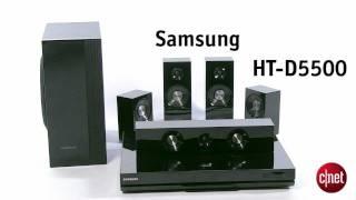 Samsung Home cinéma 5.1 Blu-Ray 3D HT-D5500