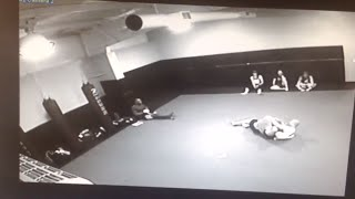 Wrestler Challenges Jiu Jitsu Instructor at 10th Planet Decatur AL - Security Cam Footage