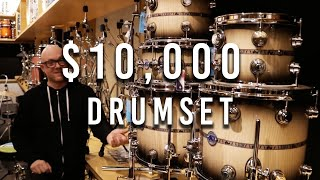 $10,000 DRUM SET IN CHICAGO | DRUMMER ON TOUR VLOG