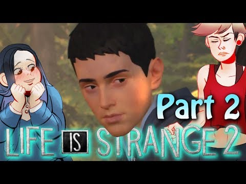Into The Woods - Life is Strange 2 Walkthrough Gameplay Part 2 (2 Girls 1 Let's Play)